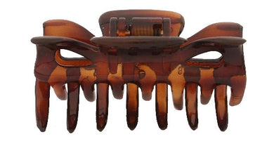 Patent Cover Tortoise Shell Hair Claw 745