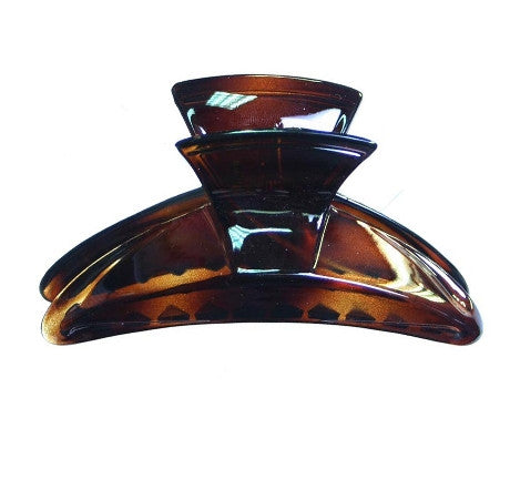 Tortoise Shell Square Top  Hair Claw 797