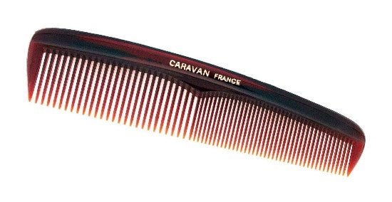 Small Tortoise Shell Pocket Brushing Comb 90391