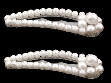 Mini Pearl Snap Hair Pins 913-2