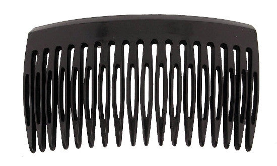 Small Black French Side Hair Comb 9556