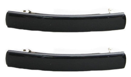 Gallia Barrette Black Pair 9600-2