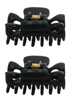 Mini Black Hair Claws (Pair) 9617-2