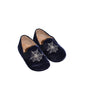 Charlotte Olympia 'Wincy' Velvet Slippers - Size: 5 1/2 Infant - Tristyn's Closet