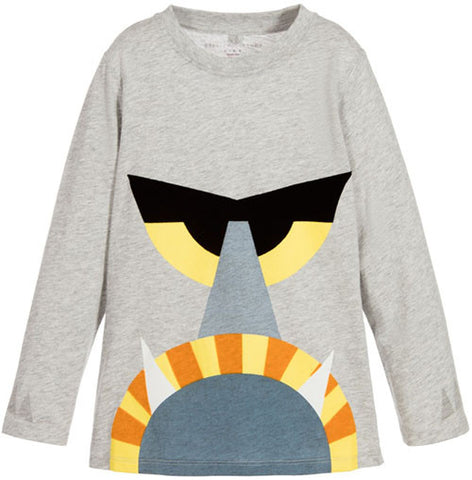 Stella McCartney Kids Barley Lion Face Tee - Size: 14 - Tristyn's Closet