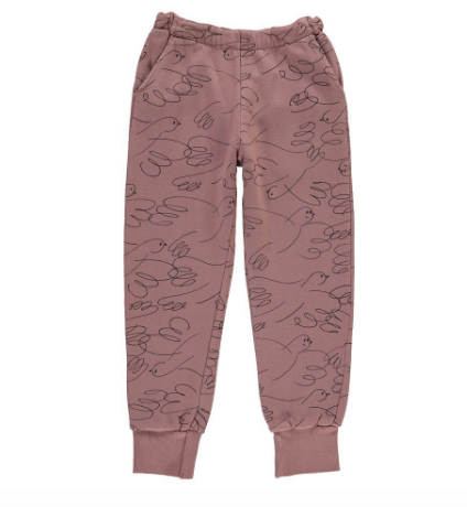 Bobo Choses Dove Sweatpants - Size: 8-9Y - Tristyn's Closet