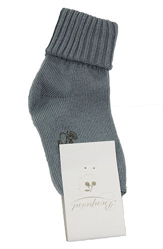 Bonpoint Turnover Socks - Size: 6M - Tristyn's Closet