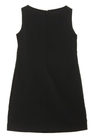 Moschino Black Bones 'Chic' Shift Dress - Size: 8 - Tristyn's Closet