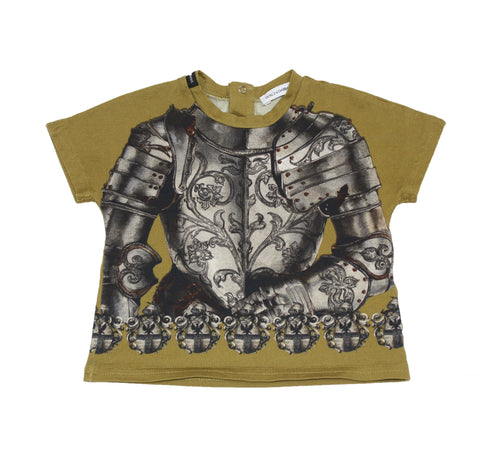 Dolce & Gabbana Baby Knight Printed Tee - Size: 6-9M - Tristyn's Closet