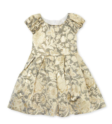 David Charles Girls Floral Party Dress - Size: 4T - Tristyn's Closet