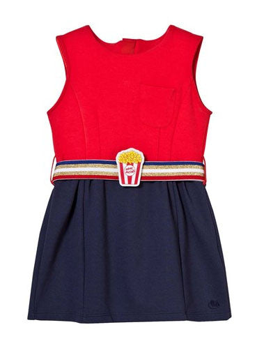 newest 77ede 91705 Little Marc Jacobs Milano Dress with Popcorn Belt - Size: 8