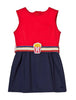 Little Marc Jacobs Milano Dress with Popcorn Belt - Size: 8 - Tristyn's Closet