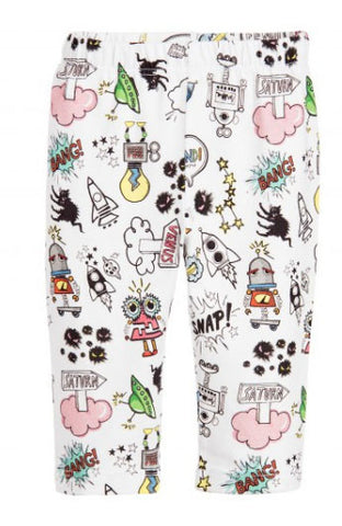 Fendi Baby Space Monster Print Leggings - Size: 9M - Tristyn's Closet