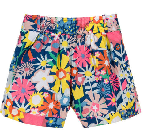 Stella McCartney Kids Floral Collage Shorts - Size: 6 - Tristyn's Closet