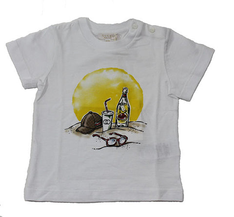 Gucci Baby Graphic Beach Tee - Size: 12-18M - Tristyn's Closet