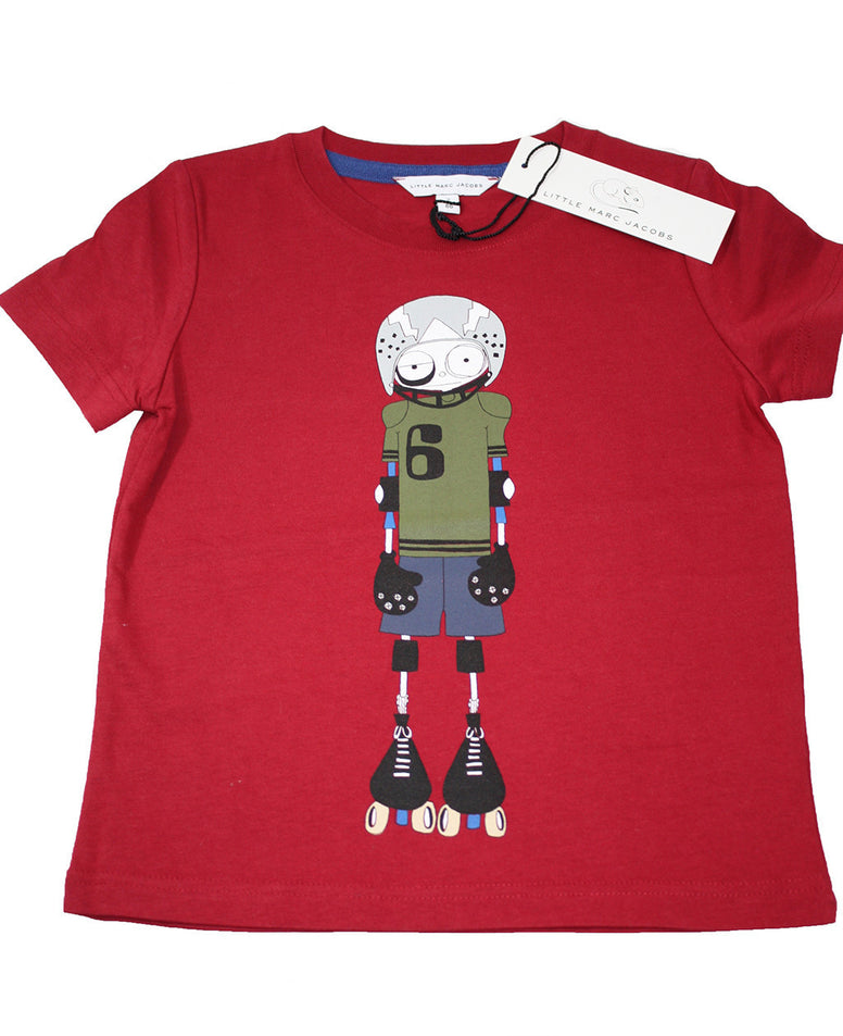 Little Marc Jacobs RollerBlader Boys Tee - Size: 2T - Tristyn's Closet