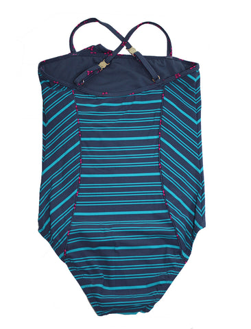 Little Marc Jacobs Striped One-Piece Swimsuit - Size: 10 - Tristyn's Closet