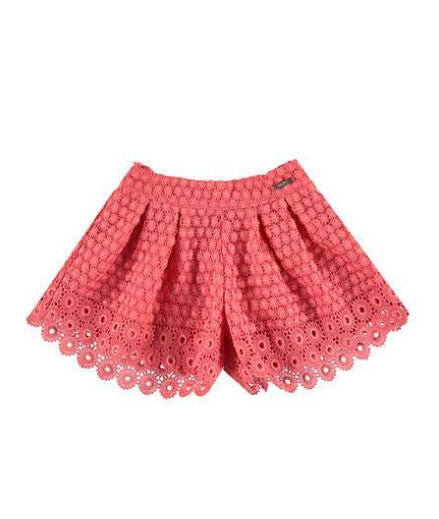 Mayoral Pleated Lace Shorts - Size: 3T - Tristyn's Closet