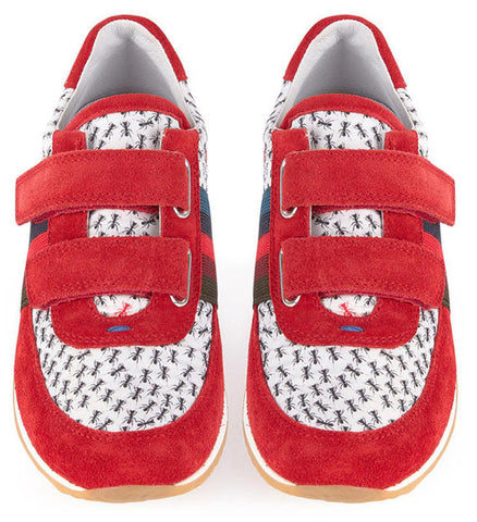 Paul Smith Junior Ant Printed Sneakers - Size: 25EU/9US - Tristyn's Closet