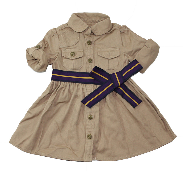 Ralph Lauren Chino Shirtdress & Bloomer - Size: 6M - Tristyn's Closet
