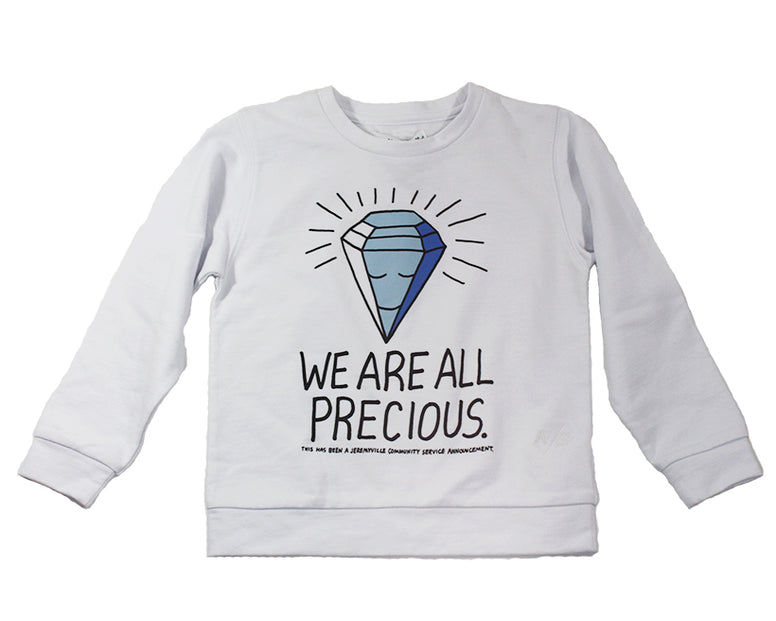 Atelier Child X Jeremyville 'We Are All Precious' Sweater - Size: 4/5 - Tristyn's Closet