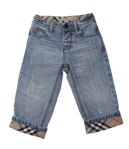 Burberry Distressed Jeans - Size: 18M - Tristyn's Closet