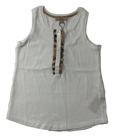 Burberry Solid Tank Top - Size: 8 - Tristyn's Closet