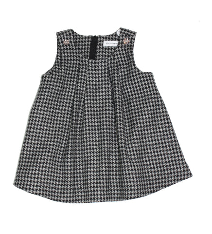 Dolce & Gabbana Check Tartan Sleeveless Dress - Size: 3-6 Months - Tristyn's Closet