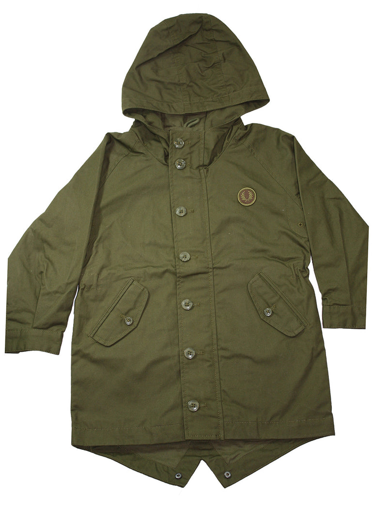 Fred Perry Fishtail Parka - Size: 4-5 Years - Tristyn's Closet