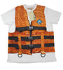 John Galliano Boys T-Shirt w/Printed Vest - Size: 12 Years - Tristyn's Closet