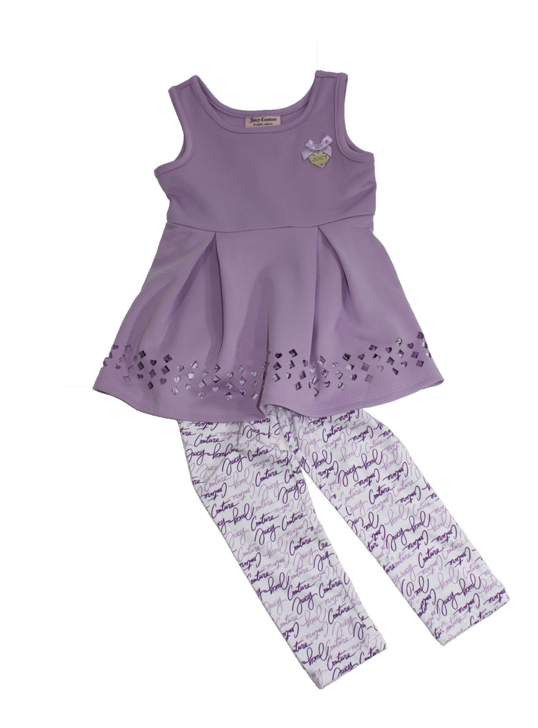 Juicy Couture Top & Printed Leggings Set - Size: 4T - Tristyn's Closet