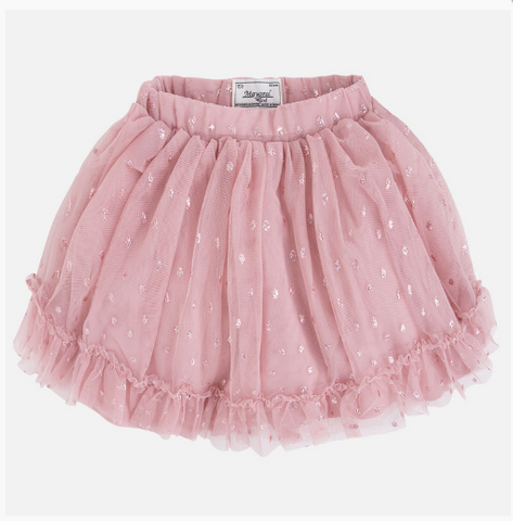 Mayoral Tulle Polka Dot Skirt - Size: 6 - Tristyn's Closet