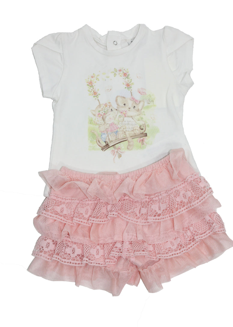 Mayoral 2-Piece Baby Girl Set - Size: 9M - Tristyn's Closet