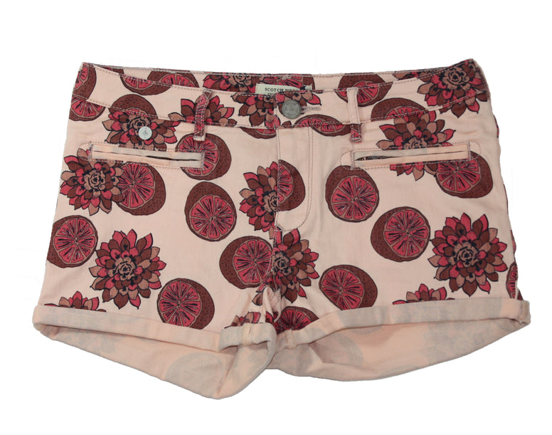 Scotch R'Belle Girls Flower Fruit Shorts - Size: 16 - Tristyn's Closet