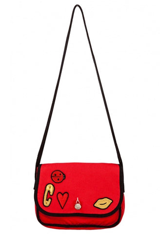 Sonia Rykiel Enfant Bag With Badges - Tristyn's Closet