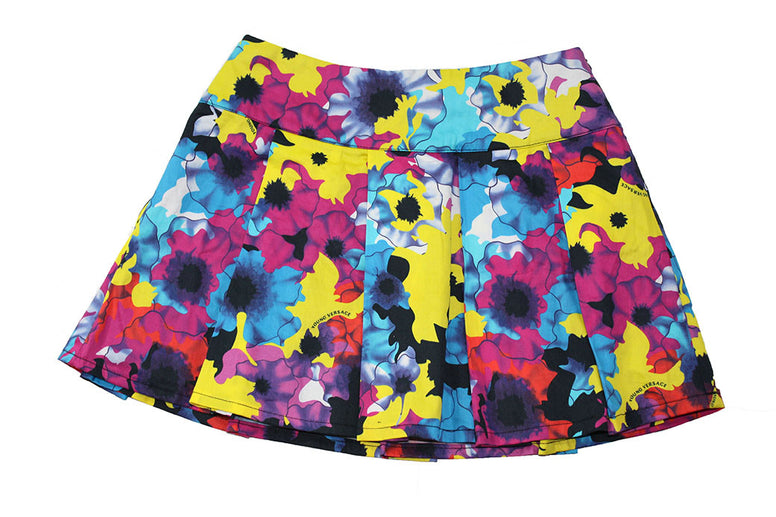 Young Versace Floral Skirt - Size: 8 - Tristyn's Closet