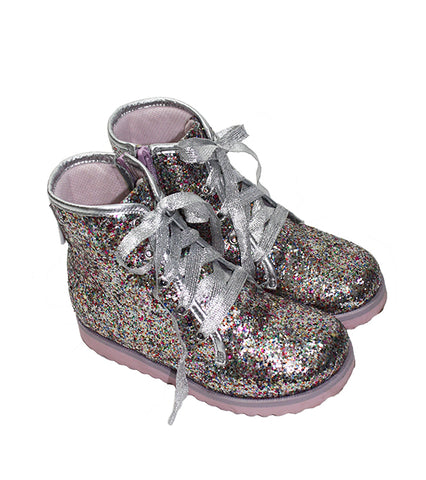 Sophia Webster Mini Wiley Glitter Boots - Size: 29EU/12US - Tristyn's Closet