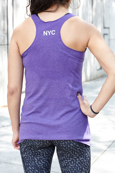 Tri-blend Women's Racerback Fitted Tank (Next Level Brand)