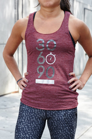 Tri-blend Women's Racerback Tank (Royal Apparel Brand)