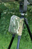 Shoulder Pad for Lens & Camera Support Large Tripod Gitzo/Benro & other makes, EREBIS Camo