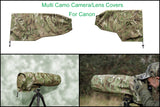 For Canon lens Range  Waterproof Multi Camo & DPM Woodland Camera Lens Cover & Pouch