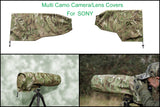 SIGMA lens Range Of  Waterproof Multi Camo or DPM Woodland Camera Lens Cover & Pouch