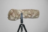 Reversible Waterproof Camera Lens Cover for Nikon 500 F4 VR I & II, Desert Camo with free Cap