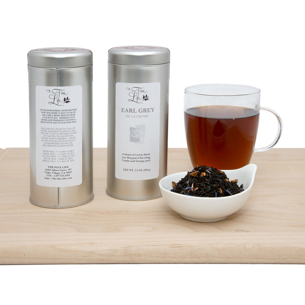 Loose Leaf Black Tea - Earl Grey De la Crème