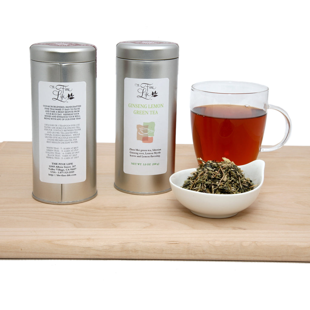 Ideal Loose Leaf Teas - Single Flavor Tins - Green