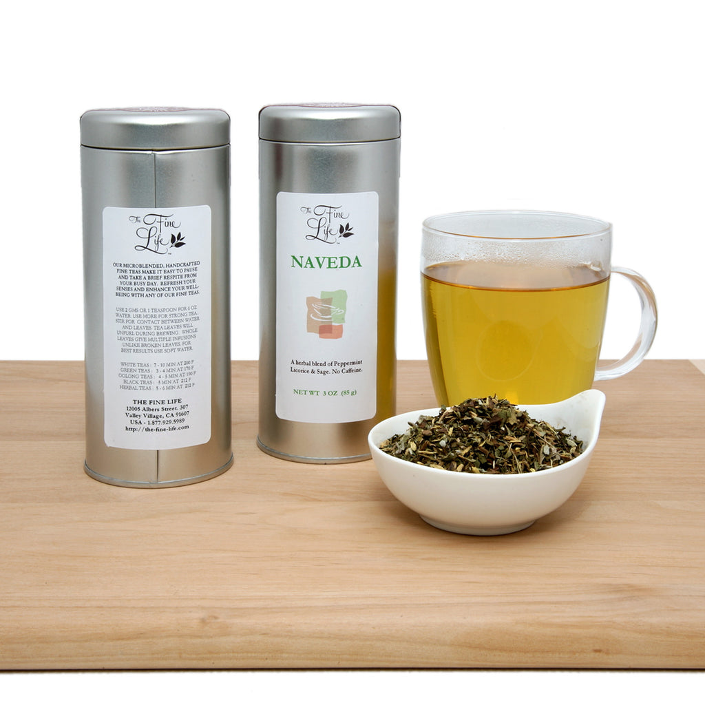 Ideal Loose Leaf Teas - Single Flavor Tins - Decaf/Herbal