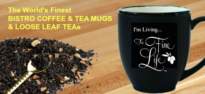 The Ideal Olive Oil Mug & Loose Leaf Teas