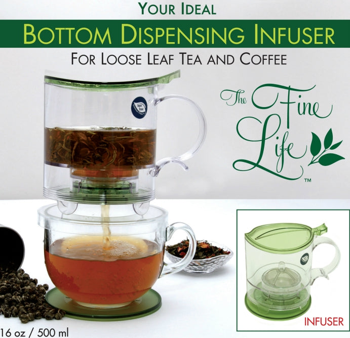 The Ideal Bottom Dispensing Infuser