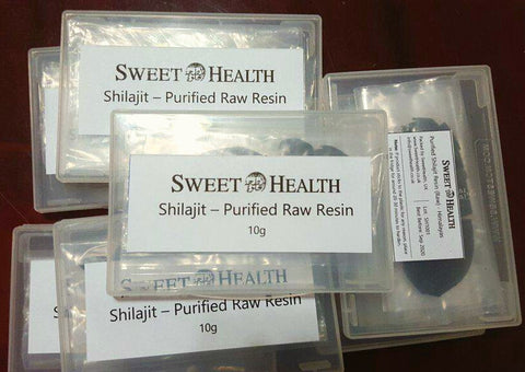 Shilajit / Mumio / Asphaltum - Purified Raw Mineral Resin