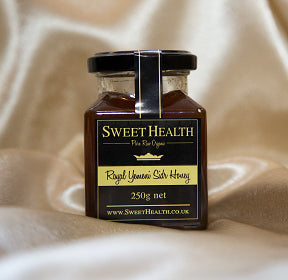 Pure, Raw, Organic Yemeni Sidr Honey (Royal) - 250g Jar